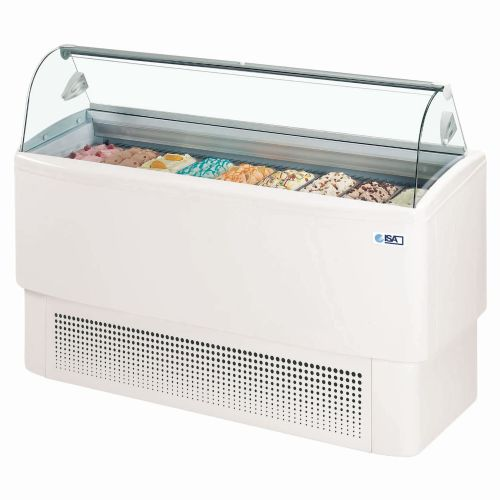 ISA FIJI 9 Ventilated Scoop Ice Cream Display